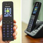 تلفن بیسیم پاناسونیک مدل KX-TGH220EB