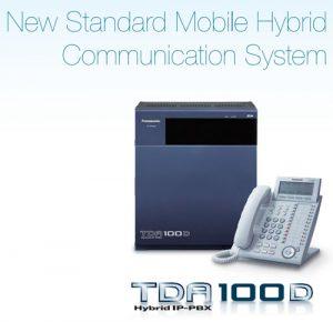 معرفی دستگاه سانترال KX-TDA100D